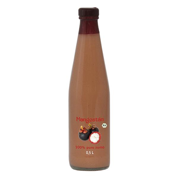 zumo de mangostán bio